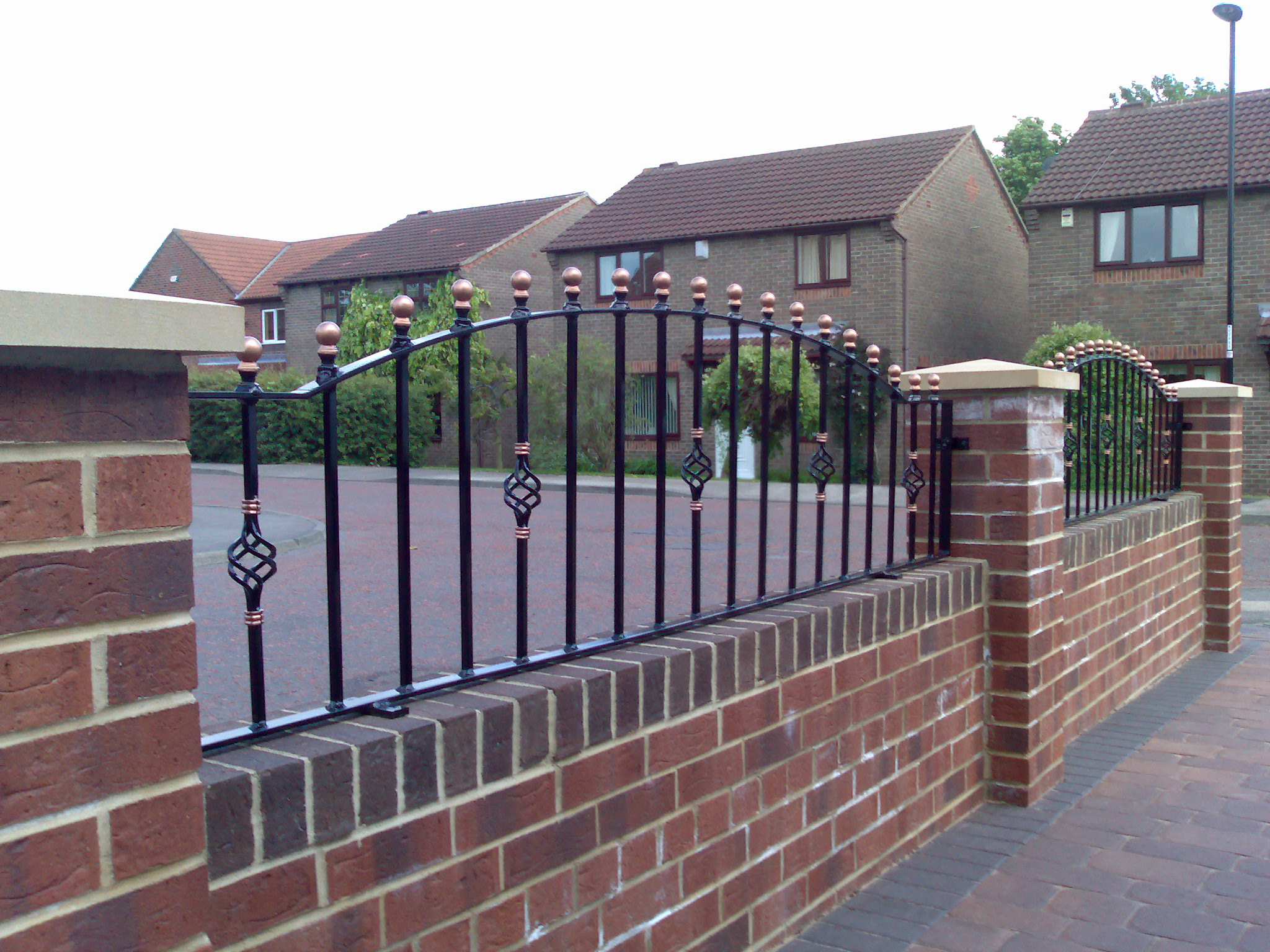 Bespoke Railing Design Express Gates Wrought Iron