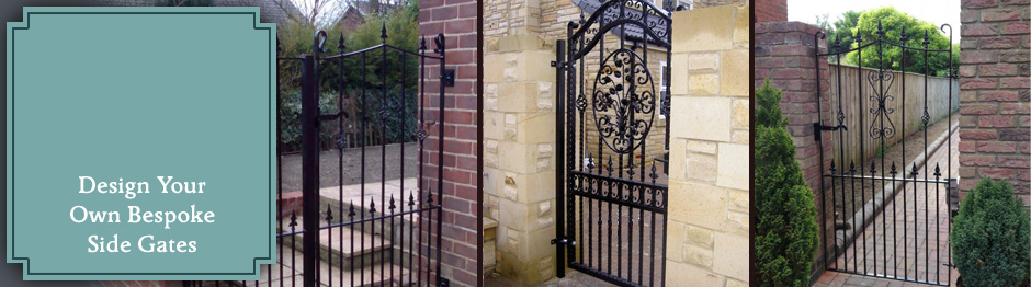 Side Gates Express Gates Wrought Iron Gates Design